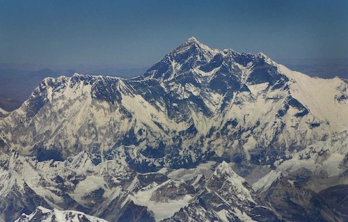 Mt Everest Aerial
